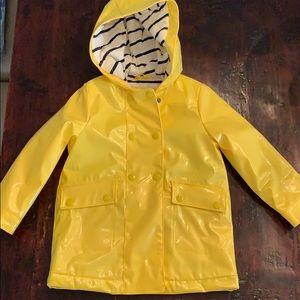 Never worn! Sz 4 Lined raincoat